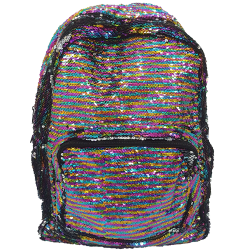 Style Lab Girl Backpack Reversible Sequins