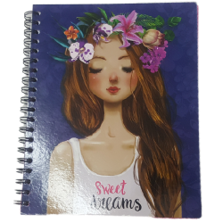 Spiral Notebooks 2 Material